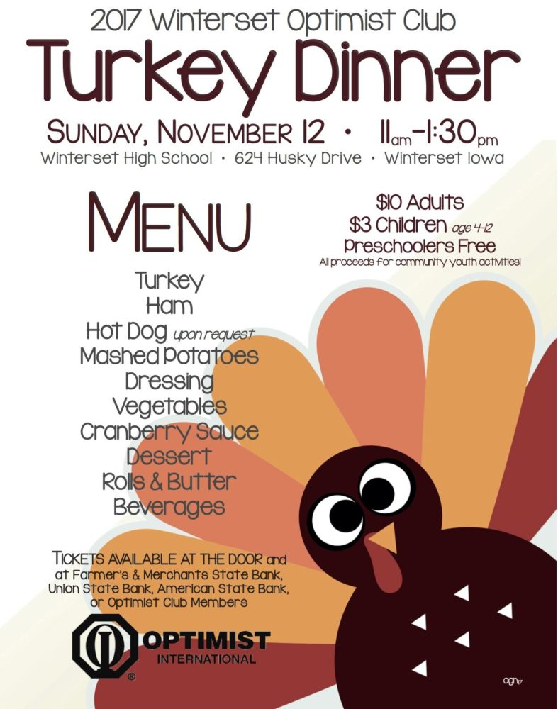 Winterset Optimist Club Turkey Dinner
