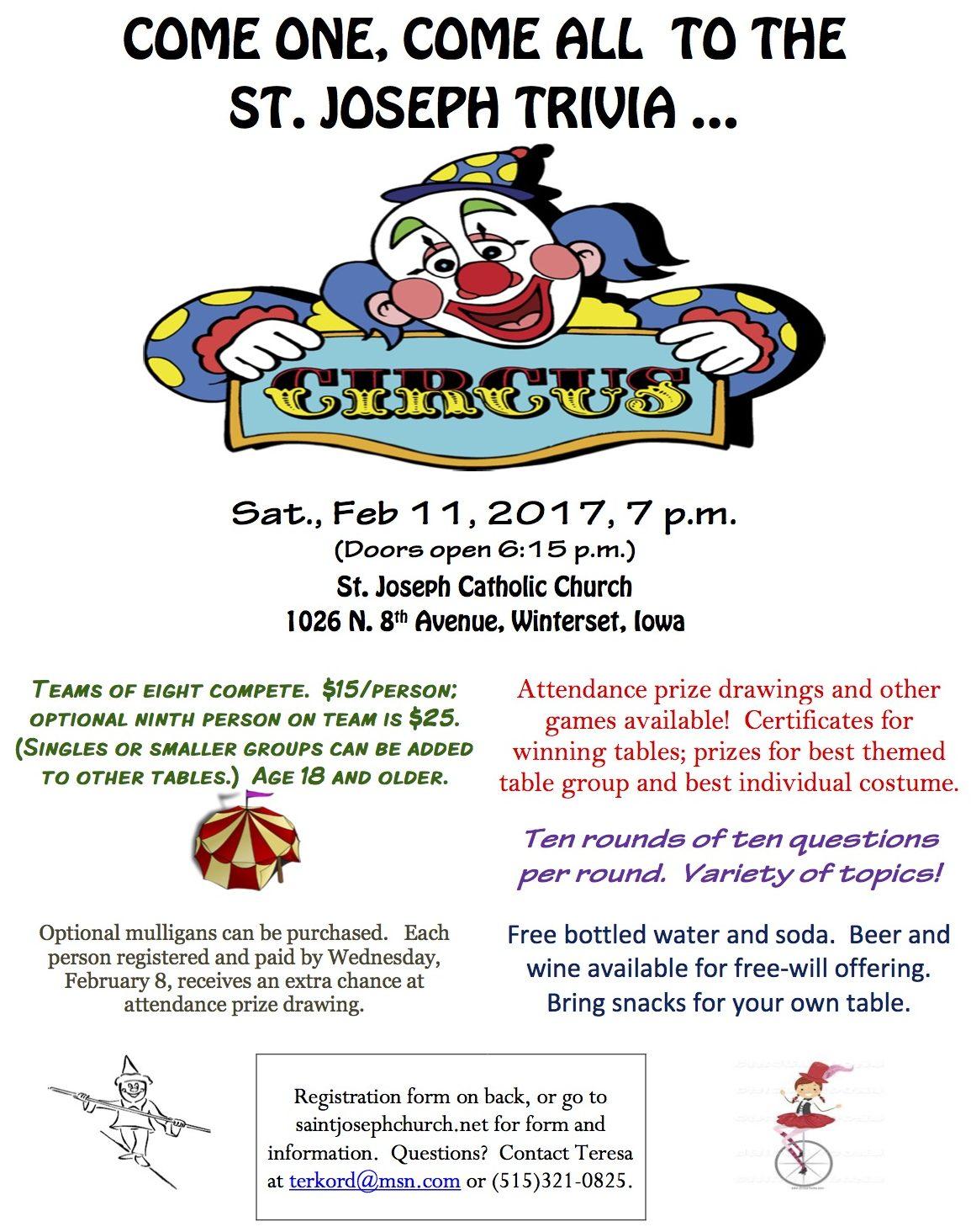 2017 Feb circus flyer
