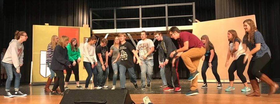 Winterset Huskies High School Musical Rehearsal