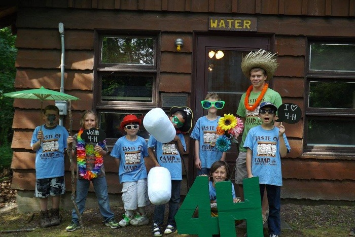 4H Taste of Camp 2015 Winterset