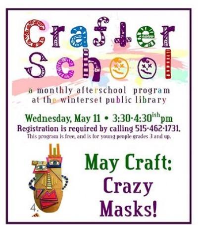 CrafterSchoolMay11