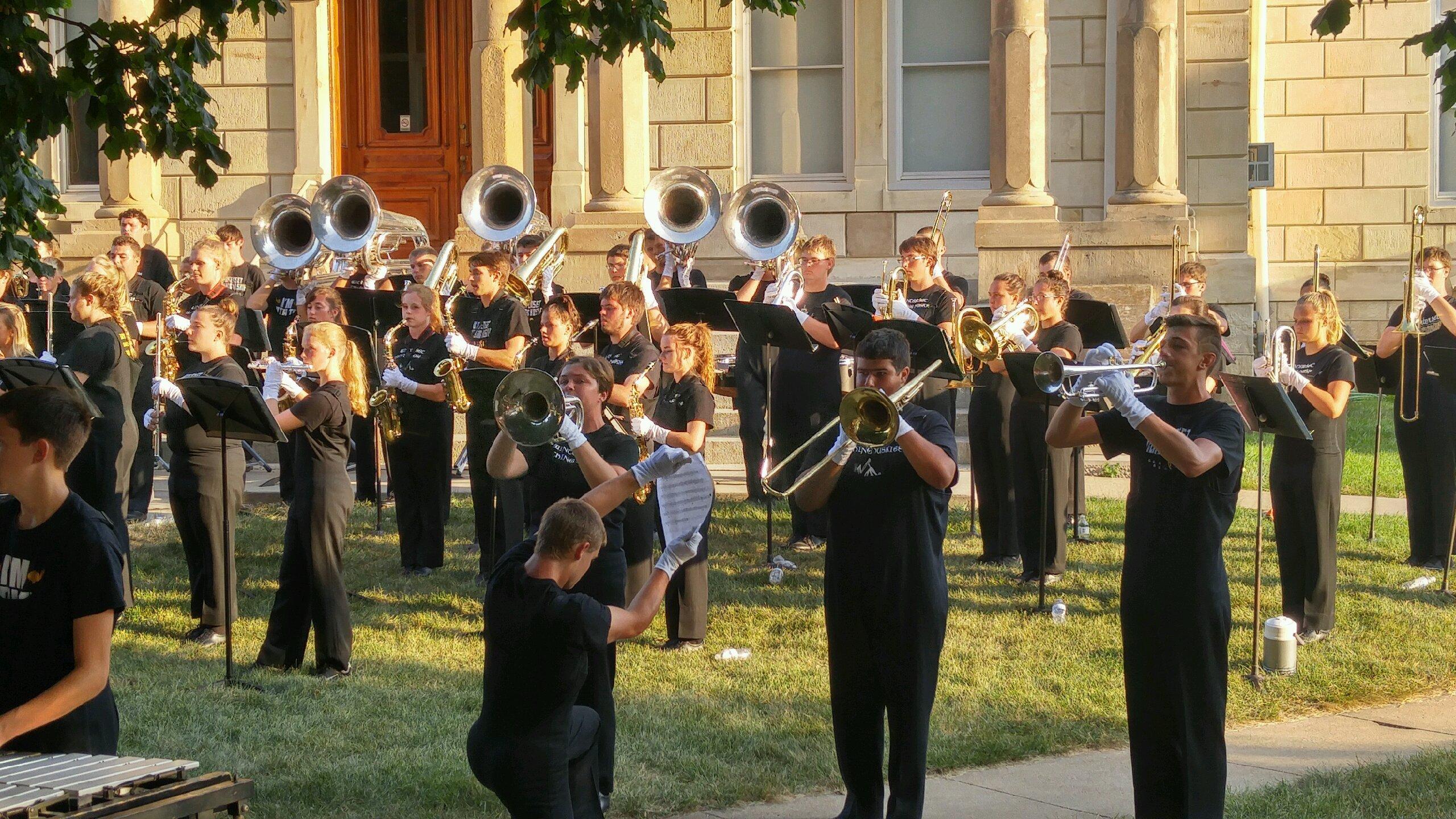 Winterset Huskies Marching Band
