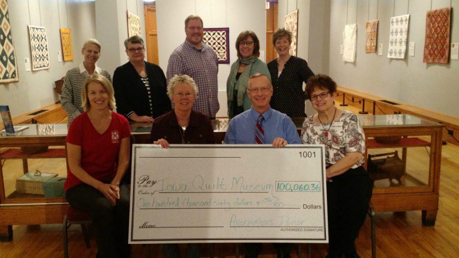 Iowa Quilt Museum Donation