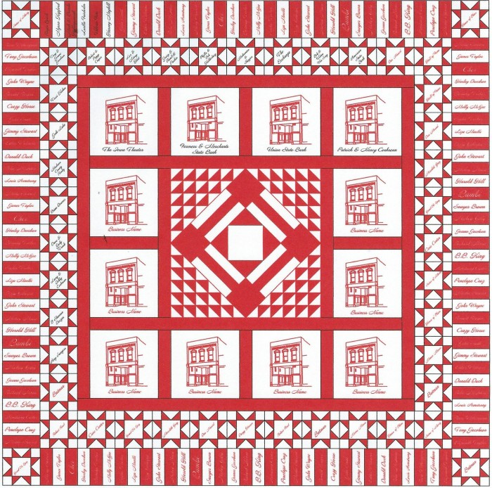 Iowa Quilt Muesum red white quilt Winterset