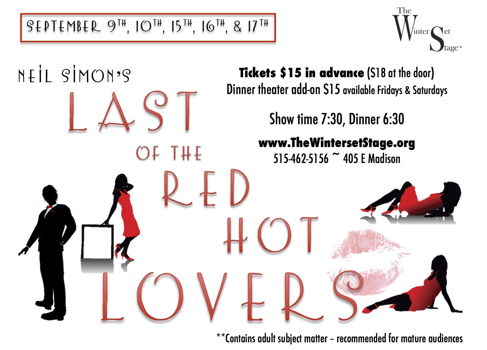 Last of the Red Hot Lovers Poster Small