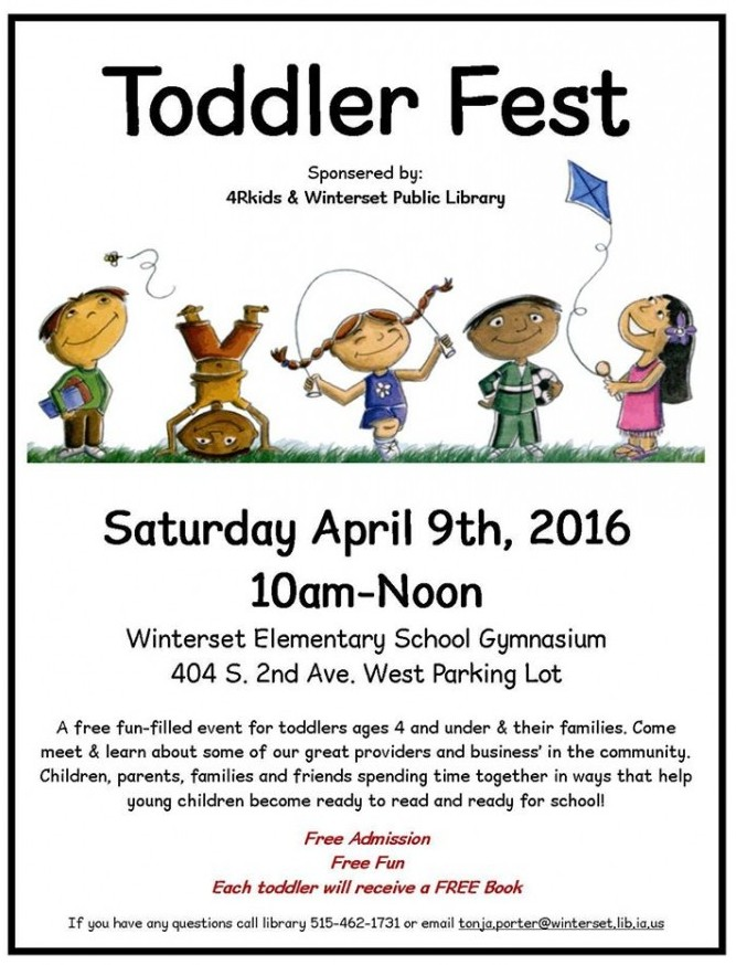 Toddler Fest Winterset