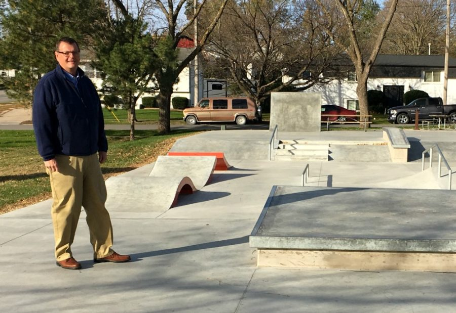 Tom Leners at Winterset Skate Park