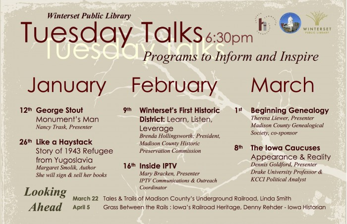 Tuesday Talks