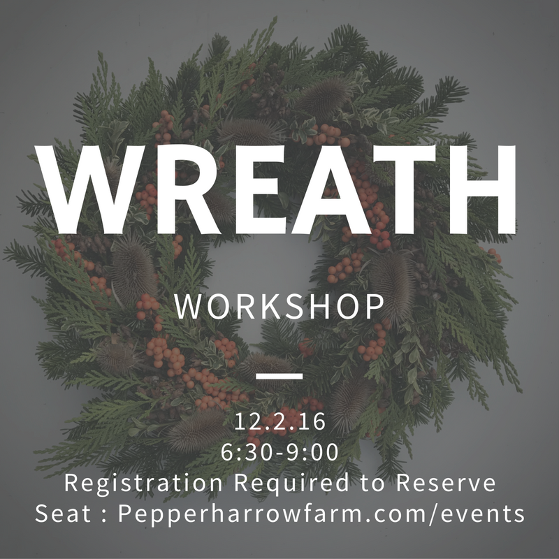 Wreath Making 2016